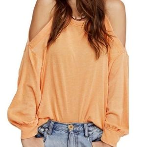 WE THE FREE Chill Out Cold Shoulder Top Sz.XS